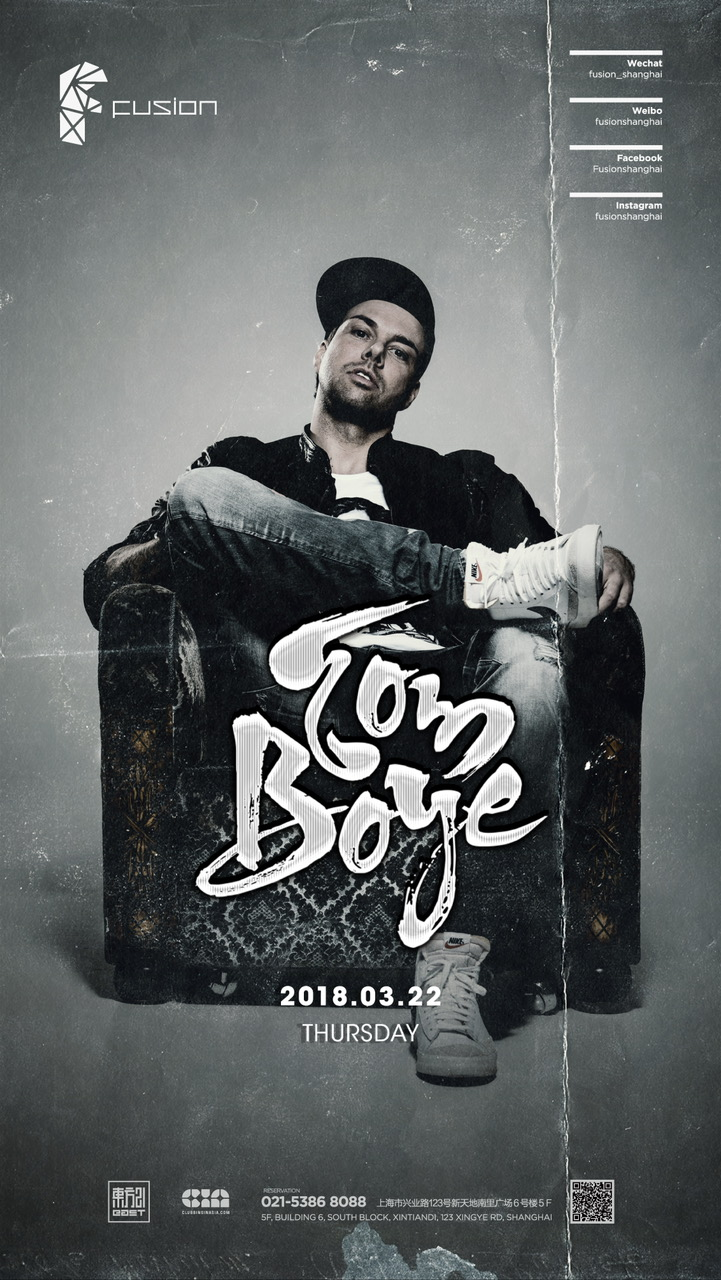 Tom Boye Club Fusion Shanghai