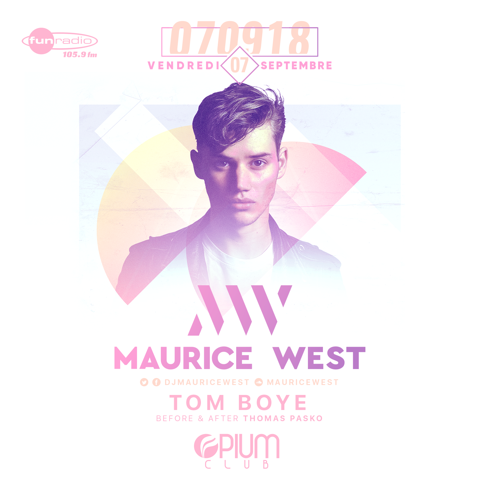 Maurice West, Tom Boye, Thomas Pasko Opium Club Toulouse